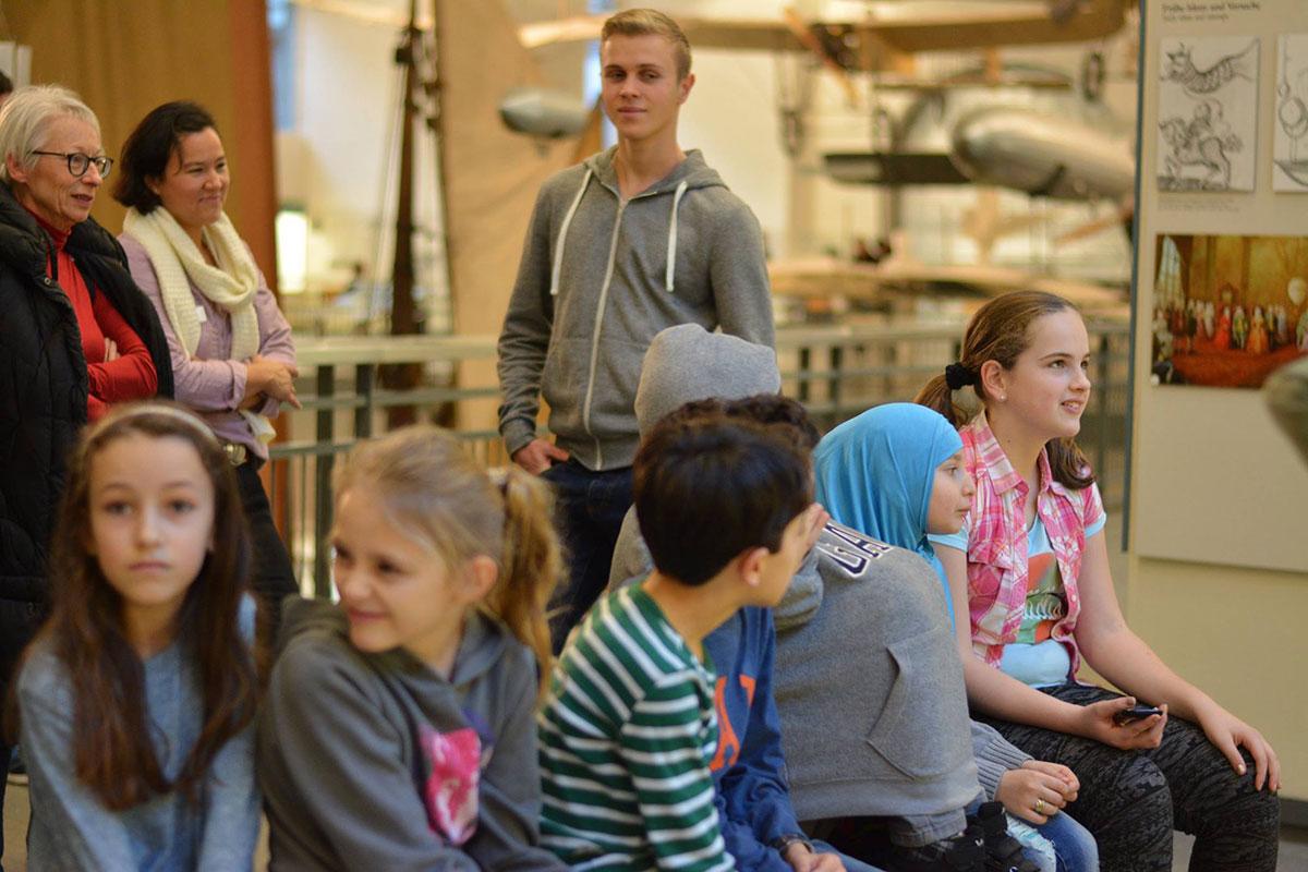 Besuch im Deutschen Museum in München