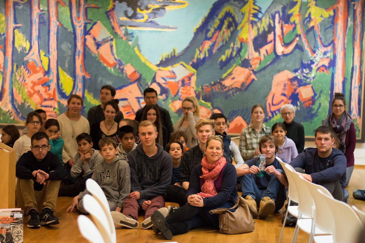 Besuch des Buchheim Museum in Bernried am Starnberger See