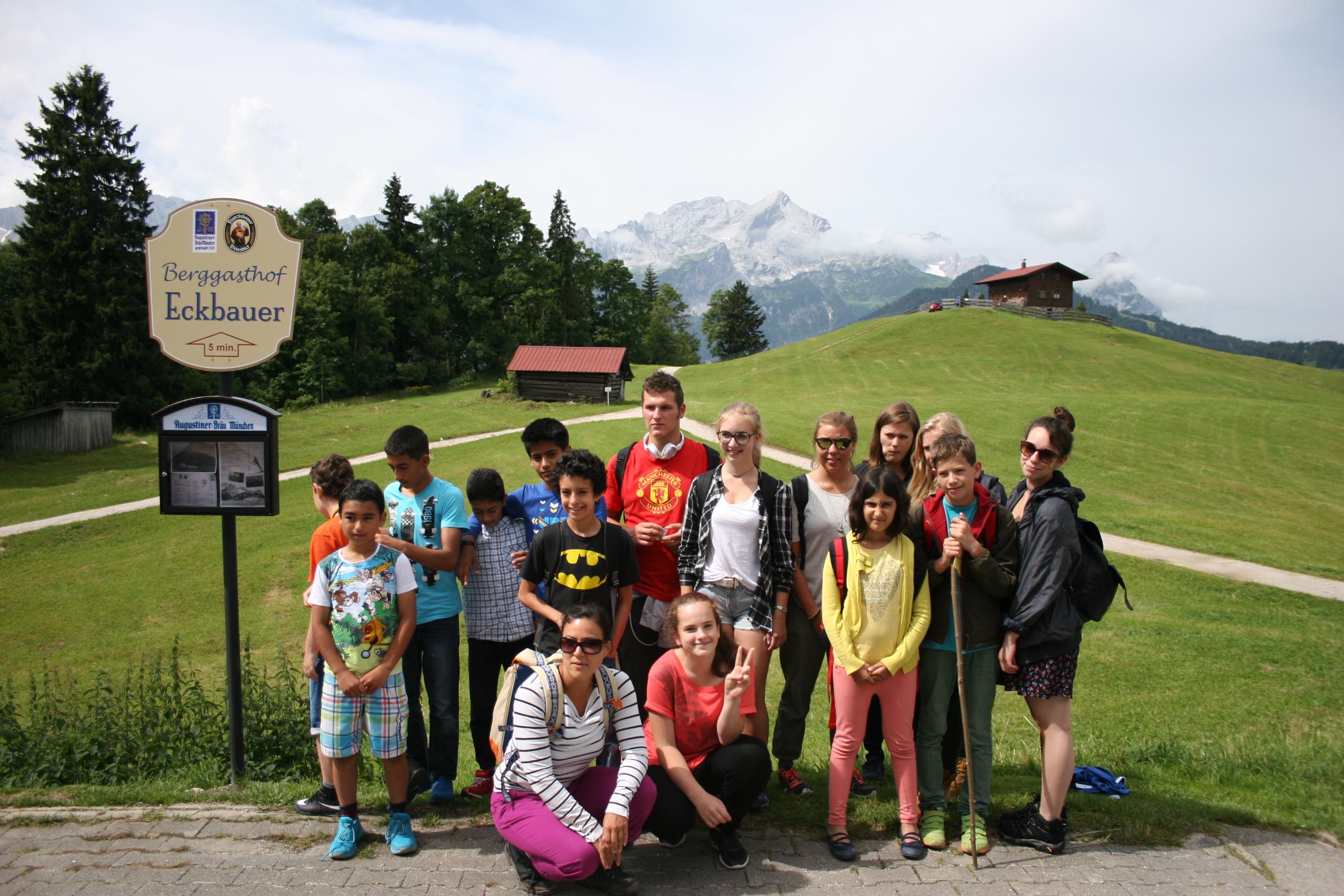 Abschlussausflug 2016 nach Garmisch