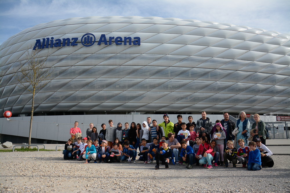 Besuch in der Allianz Arena